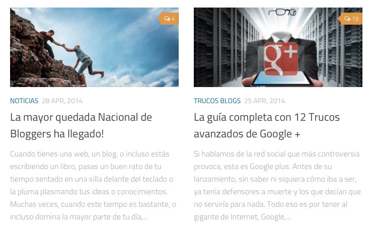 imágenes featured en wordpress