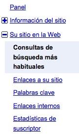 posicion de mi sitio en google